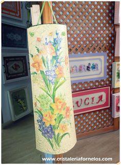 Tejas decorativas de estilo vintage!   Motivos florales para tu hogar…una buena elección!