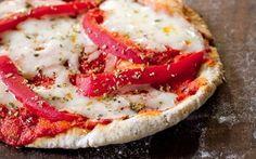 Sabrosas pizzetas en pan de pita