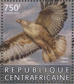 Long-legged Buzzard stamps - mainly images - gallery format