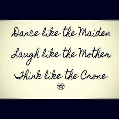 mother maiden crone images | Maiden Mother Crone | Words Words Words