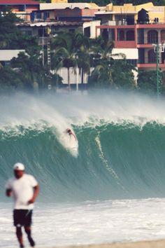 Big drop!! Puerto Escondido