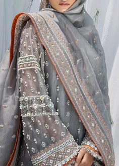 order bookings Whatsapp : Email : nivetasfashion We are Specialize in custom made High Superior quality Outfits Hand Emrbodiered Work. International Shipping Source by nivetasdesignstudio outfits indianFor order bookings Whatsapp : Emai. Pakistani Formal Dresses, Pakistani Wedding Outfits, Pakistani Dress Design, Dress Indian Style, Indian Dresses, Indian Outfits, Muslim Fashion, Bollywood Fashion, Indian Fashion