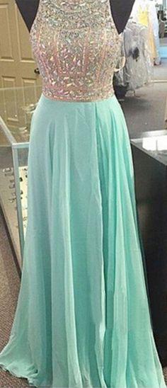 Rhinestone Prom Dresses Mint Prom D