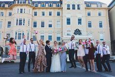 Royal Marine Hotel, Dun Laoghaire, Co. Dublin, Republic of Ireland Wedding Destinations, Destination Wedding, Seaside Wedding, Our Wedding, Vow Renewal Ceremony, Royal Marines, Republic Of Ireland, Dublin, Vows