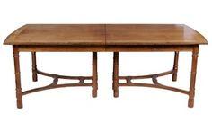 Bearnes Hampton Littlewood Fine Furniture Auctions A Van Der Waals Dining Table And Rare Tunbridgeware Wine In Sale