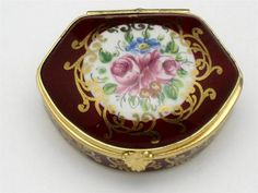 Limoges France Trinket Box