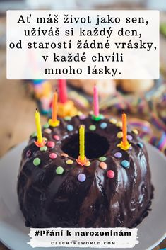 Velká sbírka nejlepších přání k narozeninám, která potěší každého! ✅ Pro kamarádku, spolužačku, tatínka či drahou polovičku. ✅ Veršovaná, krátká nebo vtipná... #prani #narozeniny #knarozeninam Caramel Apples, Happy Birthday, Desserts, Food, Happy Brithday, Tailgate Desserts, Deserts, Urari La Multi Ani, Essen
