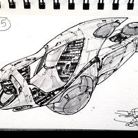 Cool Sketches, Drawing Sketches, Drawings, Cyberpunk, Starship Concept, Water Crafts, Spacecraft, Concept Art, Spaceships