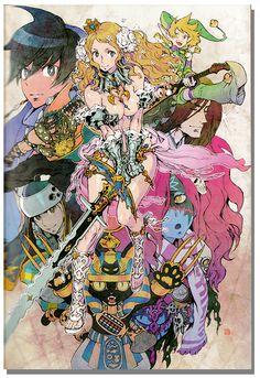Kinu Nishimura's Art Works and Model Sheets - Code of Princess Art Book - Anime Books