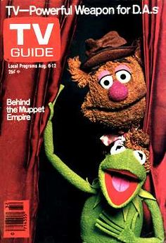 tv guides 1990s covers | TV Guide - Muppet Wiki