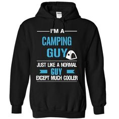 Cool camping guy T Shirts, Hoodies Sweatshirts