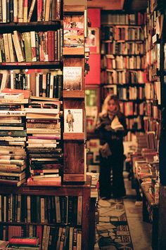 why do I love bookstores so much?