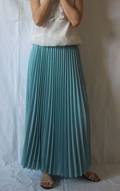 chiffon Long skirt / Maxi skirt / expansion skirt / by kunniestore