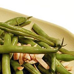Get Green Beans with Toasted Almonds Recipe from Food Network