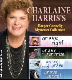 Harper Connelly Mysteries Quartet by Charlaine Harris https://www.amazon.com/dp/B004Q7CIA8/ref=cm_sw_r_pi_dp_x_ApXZzbRYC1JN0