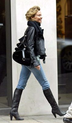 Kylie Minogue, Winter Jackets, Punk, People, Photography, Style, Fashion, Winter Coats, Swag