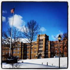 The Mount's campus nestled in a blanket of snow. #msmcny #msmc #snow