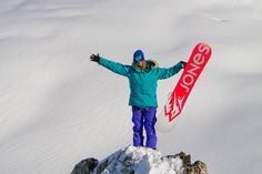 "It takes guts, grit, endurance, and a gleeful love of adrenaline to pursue extreme sports the way that the women in this five-part ""Girls that Shred"" Snowboarding Movies, Colorado Snowboarding, Colorado Rockies, Skiing, Manly Beach, Months In A Year, Extreme Sports, S Girls, Female Athletes"
