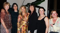 Business coach Patty DeDominic with entrepreneurs Linda Weinman, Caroline MacDougal, Cathy Lamberti Barbara Tzur