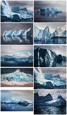 Zaria Forman, art, illustrations, pastels