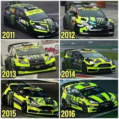 Monza Rally Show Motogp Valentino Rossi, Valentino Rossi 46, Vale Rossi, Racing Car Design, Ford Fiesta St, Vr46, 1957 Chevrolet, Dirtbikes, Monster Energy