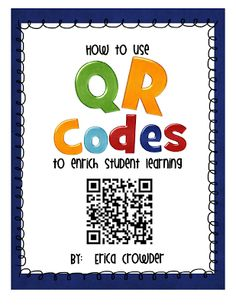Using QR Codes to teach