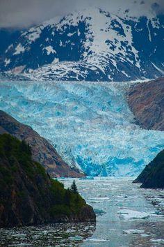 Tracy Arm Fjord, Alaska, USA