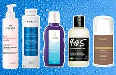 Leite demaquilante (da esq. pra dir.): Comforting Cleansing Milk, da Nuxe, é pra peles sensíveis normais a secas (R$ 104,90, a embalagem de 200 ml); Emulsão de Limpeza Facial 3 em 1, da Korres (R$ 49, à venda na Sephora); Leite de limpeza facial suave, da Weleda, remove o excesso de oleosidade, é adstringente e anti-inflamatório (R$ 71,90); 9 to 5, da Lush, é um leite de limpeza feito com óleo de amêndoas e orquídeas (R$ 77,90, a embalagem de 240g); Leite Demaquilante Pure Face, da…