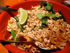 CHICKEN PAD THAI  P.F. Chang's China Bistro Copycat Recipe