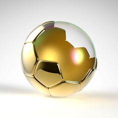 The soccer bubble - PTC Creo & Keyshot
