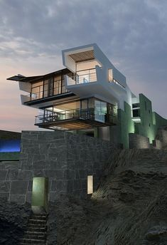 Beautiful contemporary house by the sea
