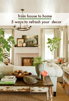 Bored by your surroundings? Here are some tips and tricks to spruce up your home. #homedecor #homedesign