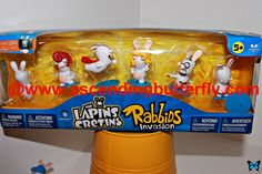 Rabbids Invasion - The Lapins Cretins on display at Blogger Bash Sweet Suite 2014 NYC Blogging Conference - http://www.ascendingbutterfly.com/2014/08/to-bloggerbashnyc-with-love.html