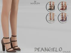 MJ95's Madlen Deangelo Shoes