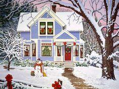 John Sloane. Home for the holidays - Winter Wallpaper ID 904787 - Desktop Nexus Nature