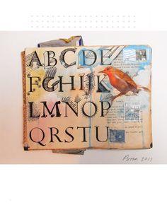 Chris Arran ~ Art Journal