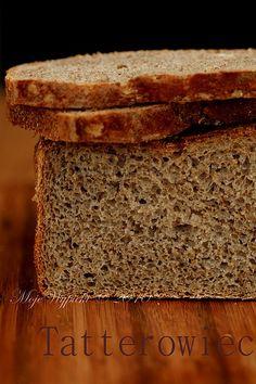 Moje Wypieki | Tatterowiec - chleb razowy na zakwasie