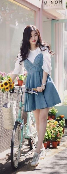 http://daebakglobal.com  GET THE LOOK - South Korea Airport Fashion Kpop Drama Korean Women OOTD Style, Korea Beauty Secrets