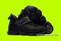 46fb15bb4d2 New Nike LeBron 14 LMTD  Triple Black  Anthracite Online