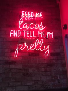 Credit to my local Chronic Tacos lol – light Bedroom Wall Collage, Photo Wall Collage, Picture Wall, Neon Aesthetic, Quote Aesthetic, Aesthetic Bedroom, Neon Signs Quotes, Neon Words, Light Quotes