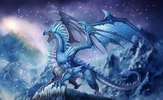 Pride of the Red Dragons Snow Dragon, Ice Dragon, Magical Creatures, Fantasy Creatures, Dragons, Fantasy Drawings, Dragon Artwork, Dragon Pictures, Fantasy Dragon