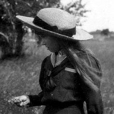 """Grand Duchess Anastasia Nikolaevna Romanova of Russia.   """"AL"""""""