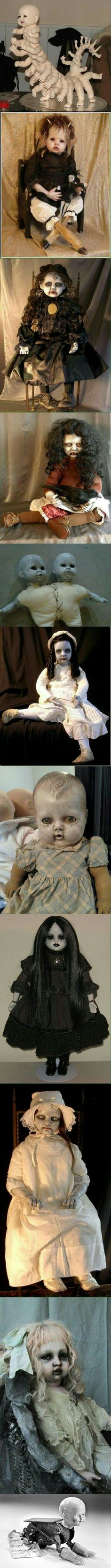 Insanely creepy dolls to add flavor on your dreams.