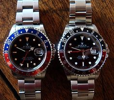 Welcome To RolexMagazine.com...Home Of Jake's Rolex World Magazine..Optimized for iPad and iPhone: Comparison Shots