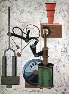 Francis Picabia. Parade amoureuse, 1917