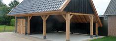Kapschuur bouwen of laten bouwen door Hout & Bouw Wereld. Diverse soorten kapschuren op maat: voor extra bergruimte, een zithoek of carport.