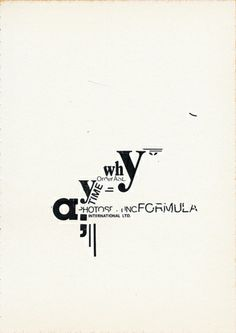 Typogranostra Typepic Typography by grapplica, via Flickr   Letraset