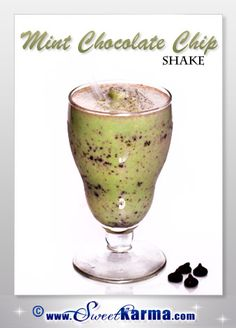 Mink chocolate chip Visalus Shake Recipe:  Mint Chocolate Chip  1 cup skim milk, soy, almond or rice milk  2 heaping scoops of Vi-Shape Shake Mix  1/2 cup of crushed ice  6 dark chocolate chips  2 drops of mint flavoring   http://seanandmartha26.bodybyvi.com/