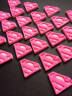Superhero Pink ~ Edible fondant Superhero Cupcake toppers by SabzCakes Superhero Party Food, Superhero Party Invitations, Superhero Cupcake Toppers, Superhero Party Decorations, Superhero Baby Shower, Superhero Cake, 1st Birthday Themes, Baby 1st Birthday, Birthday Ideas