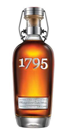 Jim Beam Bourbon Whiskey 1795:
